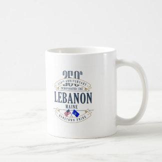 Mok van het Jubileum van Libanon, Maine de 250ste