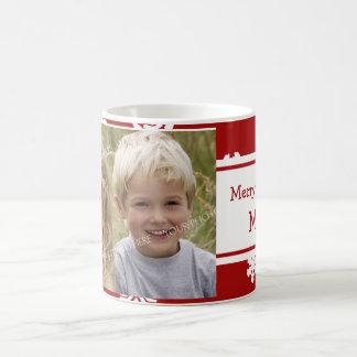 Mok van het Mamma van Kerstmis van de foto de
