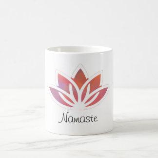 Mok van Lotus van Namaste de Veelkleurige