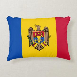 Moldova Vlag Accent Kussen