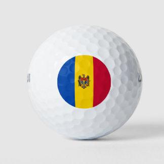 Moldova Vlag Golfballen