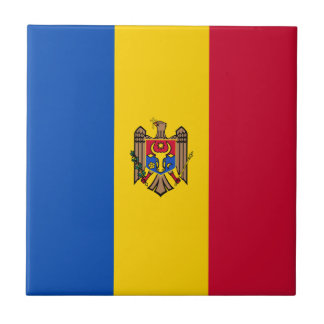 Moldova Vlag Keramisch Tegeltje