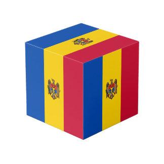 Moldova Vlag Kubus