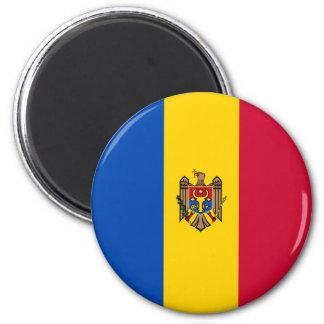 Moldova Vlag Magneet