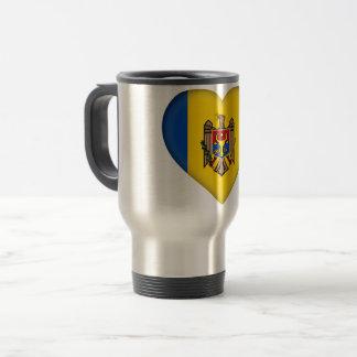 Moldova Vlag Reisbeker