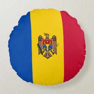 Moldova Vlag Rond Kussen