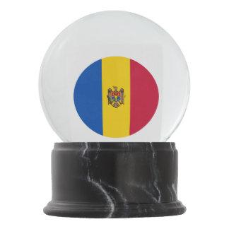 Moldova Vlag Sneeuwbol
