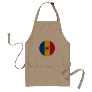 Moldova Vlag Standaard Schort