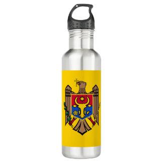 Moldova Vlag Waterfles