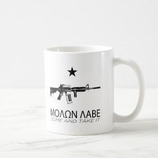 Molon Gekomen Labe - en neemt het Koffiemok