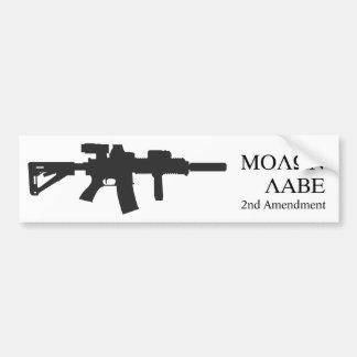 MOLON LABE bumpersticker