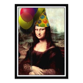 Mona Lisa - het Feestvarken Kaart