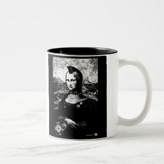 Mona Mohawk Mug Tweekleurige Koffiemok