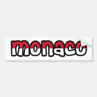 Monaco Bumpersticker