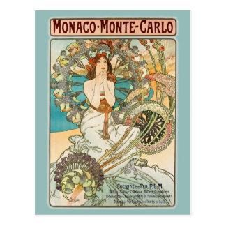 Monaco Monte Carlo Briefkaart