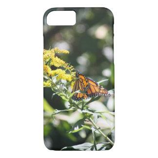 Monarch in de zomer iPhone 7 hoesje