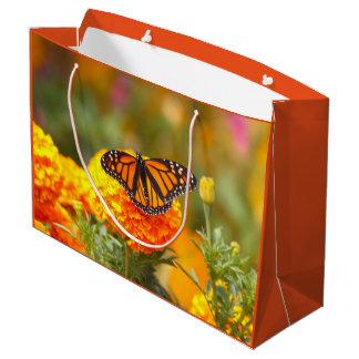Monarch op een Goudsbloem Groot Cadeauzakje
