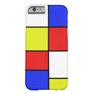 Mondriaan #19 barely there iPhone 6 hoesje
