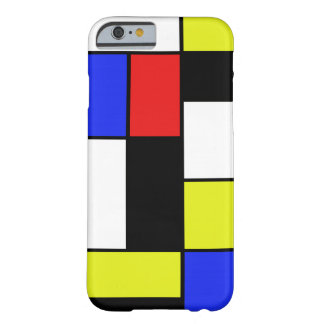 Mondriaan #20 barely there iPhone 6 hoesje