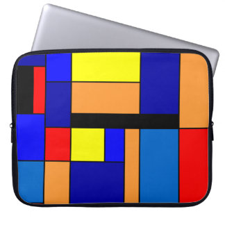 Mondrian #2 laptop sleeve