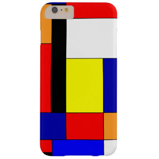 Mondrian #9 barely there iPhone 6 plus hoesje
