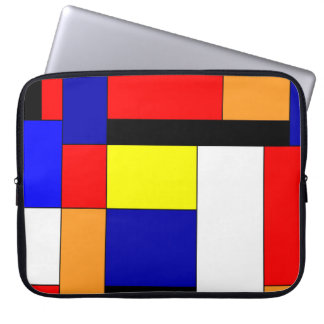 Mondrian #9 computer sleeve