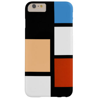 Mondrian Barely There iPhone 6 Plus Hoesje