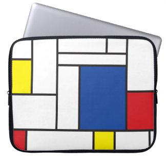 Mondrian de Minimalist DE Stijl Art Zak van de Laptop Sleeve