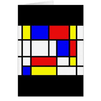 Mondrian - de Primaire Kaart van Kleuren