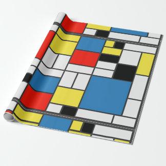 Mondrian DE Stjil Cadeaupapier