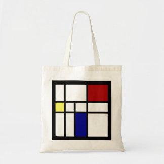 Mondrian Geïnspireerd Ontwerp Draagtas