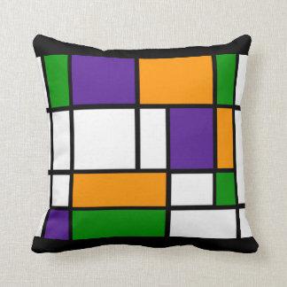 Mondrian - het Secundaire Hoofdkussen van Kleuren Sierkussen