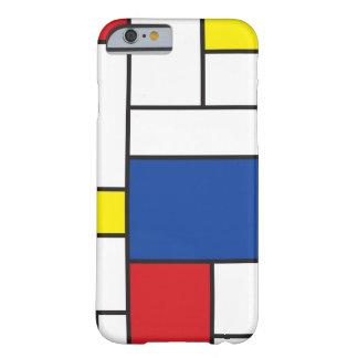 Mondrian Minimalist DE Stijl Art iPhone 6 geval Barely There iPhone 6 Case