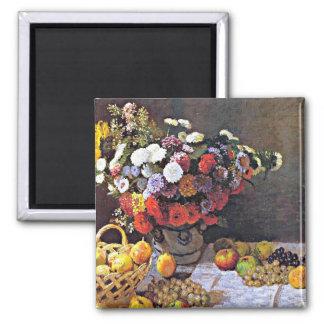 Monet - Bloemen en Fruit Magneet