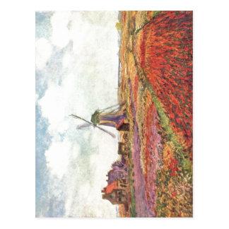 Monet, Claude Tulpen von Holland 1872 Techniek? l Briefkaart
