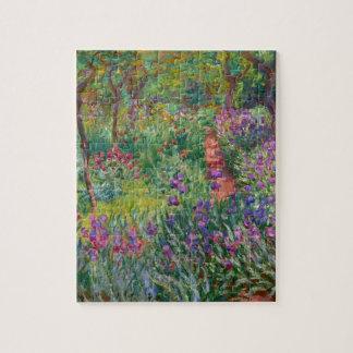 """Monet de """"Tuin van de Iris in Giverny"""" Puzzel"""