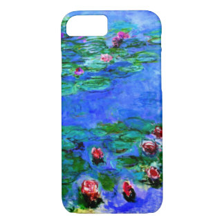 Monet - (rode) Waterlelies iPhone 8/7 Hoesje