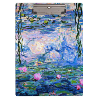 Monet - Waterlelies, 1919 Klembord