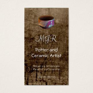 Monogram, Pottenbakker, Ceramische Kunstenaar, Visitekaartjes