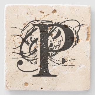Monogram Stenen Onderzetter