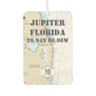 Monogram van de Grafiek van Florida van het Palm Luchtverfrisser
