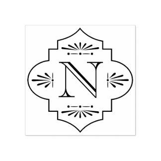 Monogram   van Deco Rubberstempel
