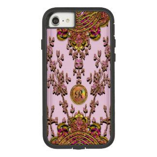 Monogram van Ella van Melantorey het Mooie Taaie Case-Mate Tough Extreme iPhone 8/7 Hoesje