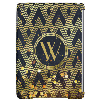 Monogram van het Patroon van de Glamour van Gatsby