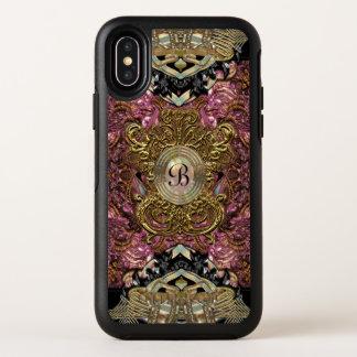 Monogram van Launuette van het parfait het OtterBox Symmetry iPhone X Hoesje