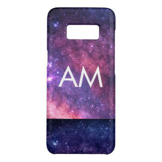Monogram van twee Initialen van de Toon het Ruimte Case-Mate Samsung Galaxy S8 Hoesje