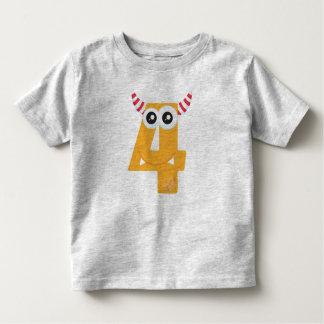 Monster 4 kinder shirts