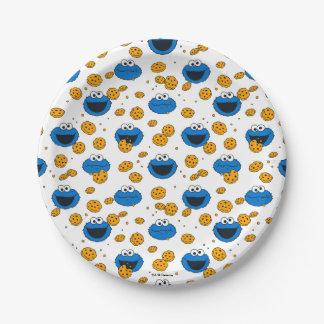 Monster | C van het koekje is voor het Patroon van Papieren Bordje