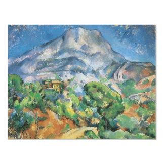 Mont Sainte Victoire boven Tholonet door Cezanne Custom Uitnodigingen