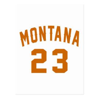 Montana 23 Design van de Verjaardag Briefkaart
